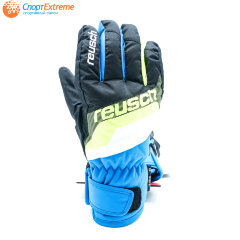 Перчатки горнолыжные REUSCH Dario R-Tex XT Black/Brilliant Blue
