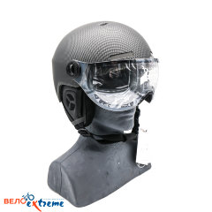Защитный шлем 1 Visor Carbon Shiny Black L (Photochromic)