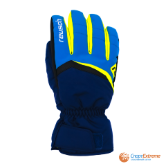 Перчатки горнолыжные REUSCH 2020-21 Balin R-Tex® XT Imperial Blue/Neon Yellow 11""