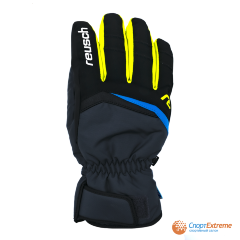 Перчатки горнолыжные REUSCH 2020-21 Balin R-Tex® XT Dark Granite/Safety Yellow 10.5""