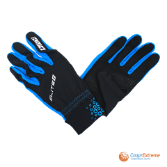 Перчатки KV+ ELITE cross country gloves black\royal 21G04.1